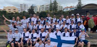 Suomen maajoukkueet EBUC2019-kisoissa.