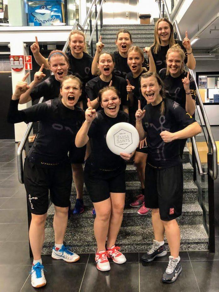 Vaasa Saintsin naisten joukkue.